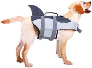 ASENKU Dog Life Jacket Ripstop Pet Floatation Vest