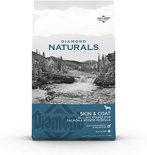 Diamond Naturals Dry Dog Food - Best dog food for skin allergies