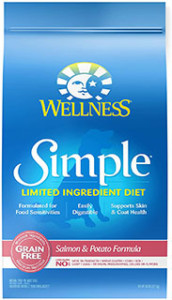 Wellness Simple Natural Dry Dog Food - Best dog food for ear allergies