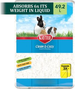 Kaytee Clean and Cozy White Small Animal Bedding