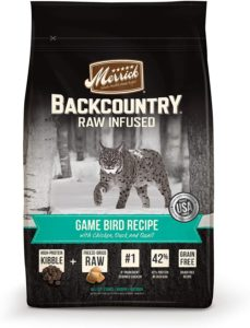 Merrick Backcountry Grain-Free Raw Infused Dry Cat Food