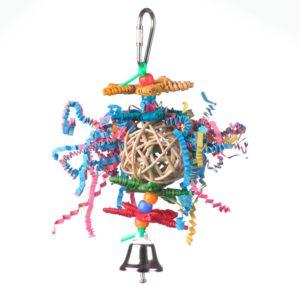 Super Bird Creations Crinkle Star Toy